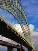 To the Other Side (sunny-drunk) Tags: uk bridge england cheshire transport mersey runcorn merseyside runcornbridge nwengland 25faves toliverpool outofcheshire