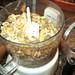 Orange Chocolate Baklava - almonds and pistachios