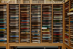 JournalsKC005_lowres (Jisc) Tags: shelves journals longshot brightcolours kingscollegelondon