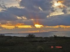 SUNSET (Duartemarian) Tags: sunset sea sky portugal nature clouds pedrasdelrei
