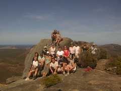 The Western Exposure Team At The Top!