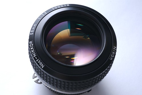 Nikkor 58mm f1.2