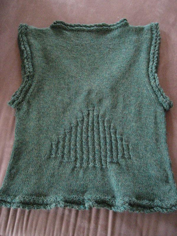Kathy's vest - back