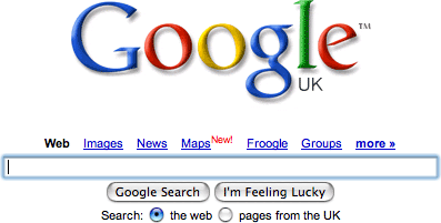 Google Adds Maps Link to UK Search