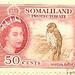 Somaliland Protectorate - 50 cents
