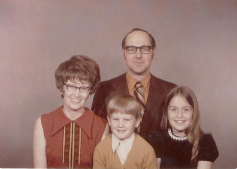 A Deverell family portrait, 1972.