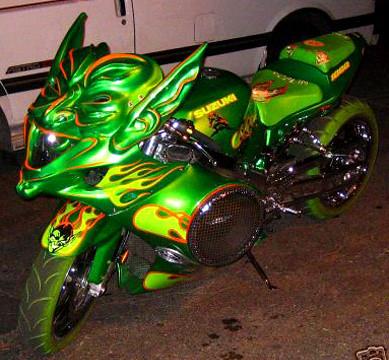 Ebay Watch Green Goblin Motorcycle Techeblog