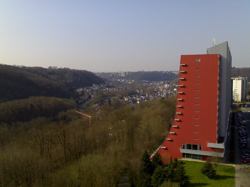 view from Hilton Luxembourg