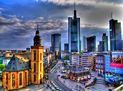 グーグルアースで3D化されたドイツ5都市を旅行