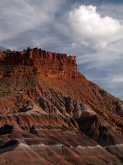 Mesa and Hills at Paria