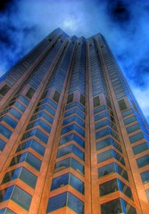 Sky's the limit (harogi) Tags: sanfrancisco windows lines skyscraper buildings perspective hdr herradura harogi haroldherradura haroldgherradura c2007haroldgherraduraallrightsreserved