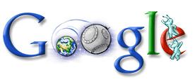 Yuri Gagarin - Russian Astronaut - Google Logo