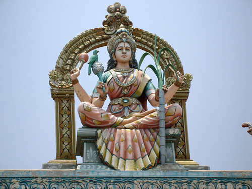 "Goddess of rain ""Mariyamman"""