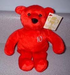 the 10 lb. NutriSystem bear