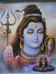 god mahadev, shiva (jk10976) Tags: nepal portrait asia god goddess kathmandu shiva mahadev jk10976 jkjk976 thegoddessfactory
