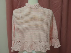 Crochet Bolero (Back View)