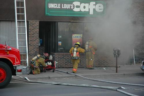 Uncle Loui's Burns!
