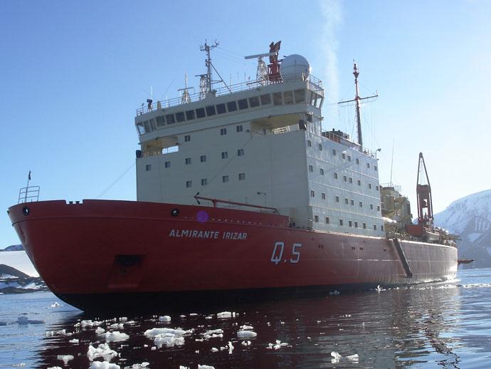 Buque: Almirante Irizar (Infografia)