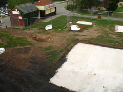 Skate-park works overview