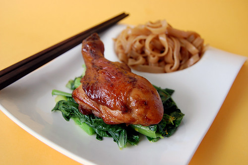 Baked Chicken Drumstick with Pho