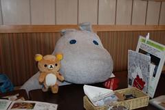 Moominmama (sheriffmitchell) Tags: bear holiday cute coffee cake japan tea bakery moomin kawaii fukuoka moomins rilakkuma