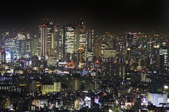 Nishi Shinjuku (NavindaK) Tags: japan night buildings tokyo shinjuku cityscape nightlights nightscape skyscrapers citylights nishishinjuku westshinjuku tokyobynight