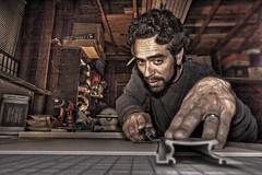In the Framer's Studio (Josh Sommers) Tags: portrait raw framer hdr allrightsreserved weekendamerica anawesomeshot flickrdiamond copyrightjoshsommers2007