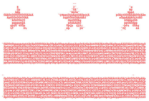 DC Flag in ASCII