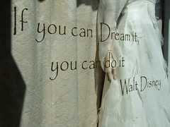 You Tell 'Em, Uncle Walt... (Ronald Hackston) Tags: uk england london quote text disney explore bridal walt guesswherelondon londonguessed trite onexplore interestingness85 i500 castigliano guessedbystevew carolinecastigliano