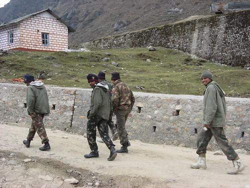 Defense folks @ Tsomgo lake..