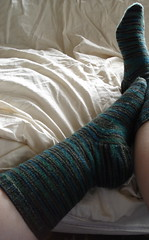 LL Stockinette socks