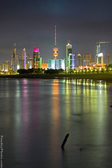 Colored City (A.alFoudry) Tags: city reflection tower colors canon 50mm colorfull 5d kuwait liberation q8 abdullah    kuw  xnuzha alfoudry  abdullahalfoudry aplusphoto foudryphotocom kuwaitvoluntaryworkcenter
