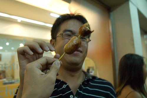 BangkokFood - random street Sausage
