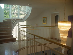 318-Gallery & Center Stair Case (j.scharkosi) Tags: views villa thurn