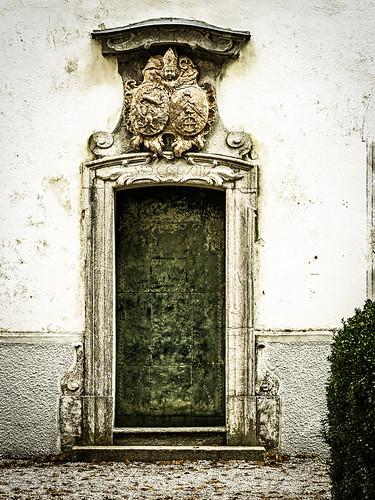 verbeulte Tür