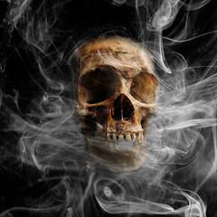 death skull smoking (Фото Paul J. S. на Flickr)