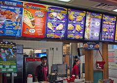 Taco Bell & KFC Menu Combined