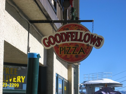 Because 'Goodfella's' would be too ethnic
