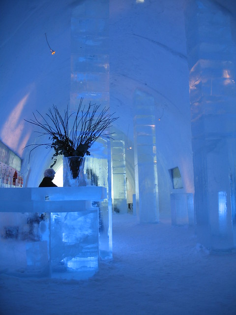 Ice Bar -  Jukkasjärvi Sweden
