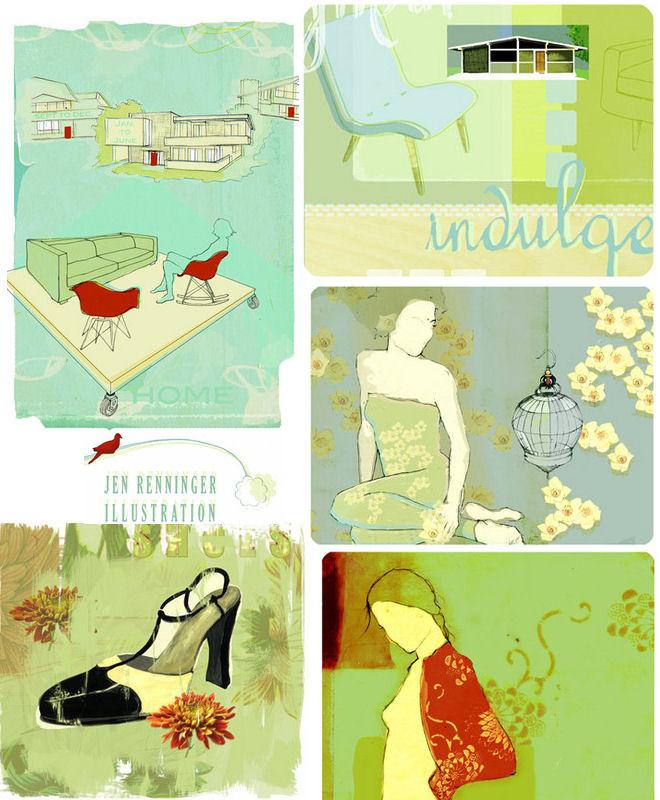 Jen Renninger Illustrator + Designer
