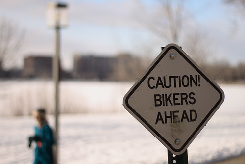 CAUTION! BIKERS AHEAD 2727