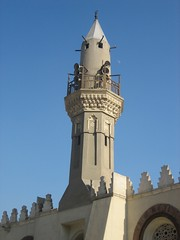 Minaret, Mosque of Amr (827 AD) (helen_romberg) Tags: architecture egypt mosque historic cairo islamiccairo amribnalas