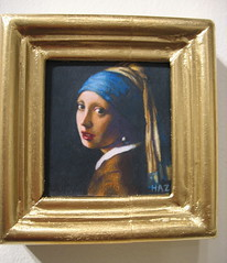 Girl with a Pearl Earring (tamaleshuck) Tags: art dutch student 1212 artist pearl vermeer artschool coloredpencil colorpencil masterpieces artstudent haz gaffney artacademy johannesvermeer girlwithapearlearring pearlearring artacademyofcincinnati hollishammonds jahazielminor hazminor chidlawgallery 20thannualminumentalexhibition minumental garygaffney convergysgallery coloredpencilsocietyofamerica