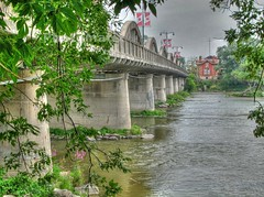 Caledonia Bridge - HDR (Bill Strong) Tags: bridge ontario wow grandriver hdr caledonia photomatix 3exp impressedbeauty