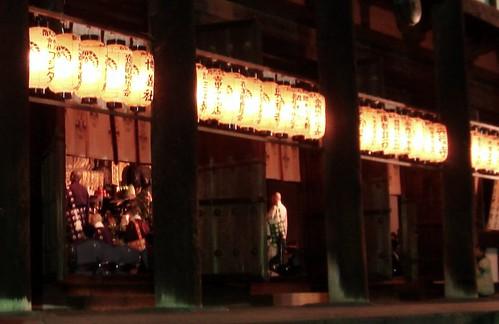 Night pray in Koufukuji