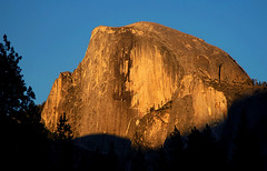 Half Dome Sunset (Jerry Ting) Tags: sunset yosemite halfdome challengeyouwinner