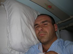 001.jpg (sixminuteproject) Tags: white bed pillow sleepy tired pnum15 6mpkeysleepy 01people