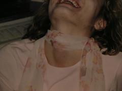 silk scarf heaven (nooseluvher) Tags: scarf neck strangle