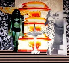 James/Monroe montage (Luis Drayton) Tags: art mushroom face collage james holocaust glamour mask mixedmedia stripes marilynmonroe digitalart nuclear icon popart montage actress photomontage glam superstar whiplash atombomb glamourpuss thesevenyearitch glamourpussy facefetish theeyeofhorus