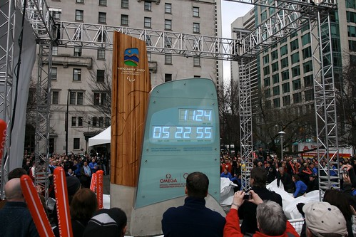 2010 Countdown Clock at the VAG